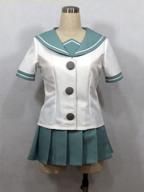 送料無料  艦隊これくしょん~艦これ~  阿武隈  コスプレ衣装 コスチューム 新番