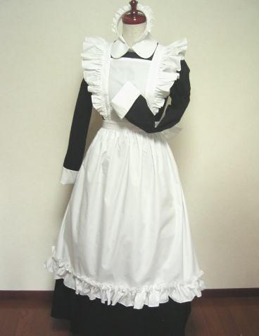 高品質コスプレ衣装 メイド服風コスチューム メイドドレス 超爆安価格