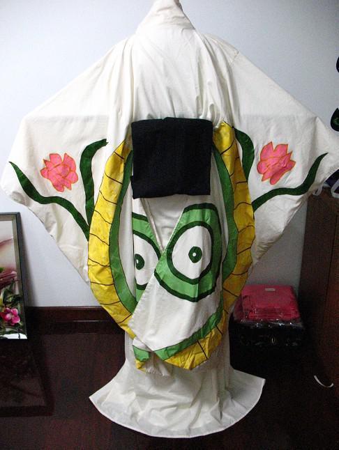 ぬらりひょんの孫 氷麗(つらら)風和服 コスプレ衣装
