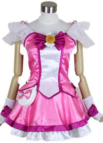 スマイルプリキュア! Smile PreCure! 星空みゆき キュアハッピー Cure Happy コスプレ衣装 変装 仮装 コスチューム