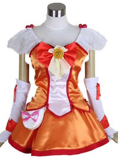 スマイルプリキュア! Smile PreCure! 日野あかね キュアサニー Cure Sunny コスプレ衣装 変装 仮装 コスチューム