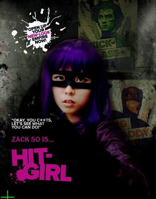 映画 KICK ASS キックアス ヒットガール HIT-GIRL コスプレ衣装 コスチューム ハロウィン 衣装