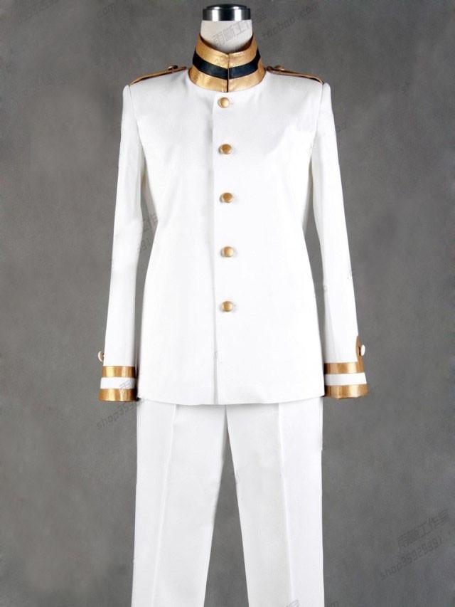 Axis Powers ヘタリア  日本軍服 本田菊  コスプレ衣装