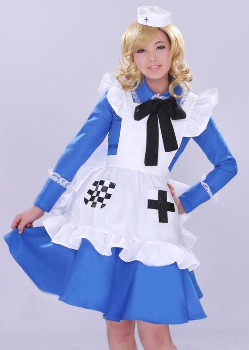 ヘタリアAxis Powers  にょたりあ イギリス娘 コスプレ衣装