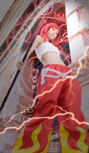 コスプレ衣装 フェアリーテイル Fairy Tail  エルザ?スカーレット コスチューム