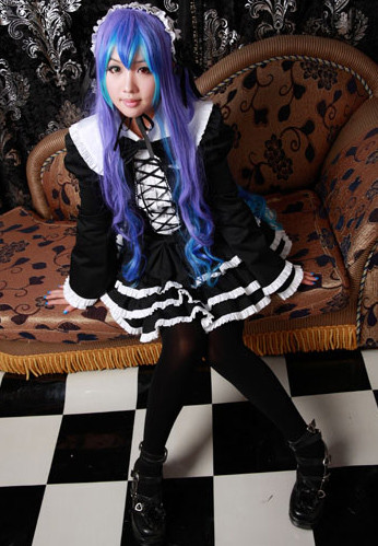 VOCALOID  ボーカロイド  巡音ルカ LUKA Anti The∞Holic コスプレ衣装 コスチューム