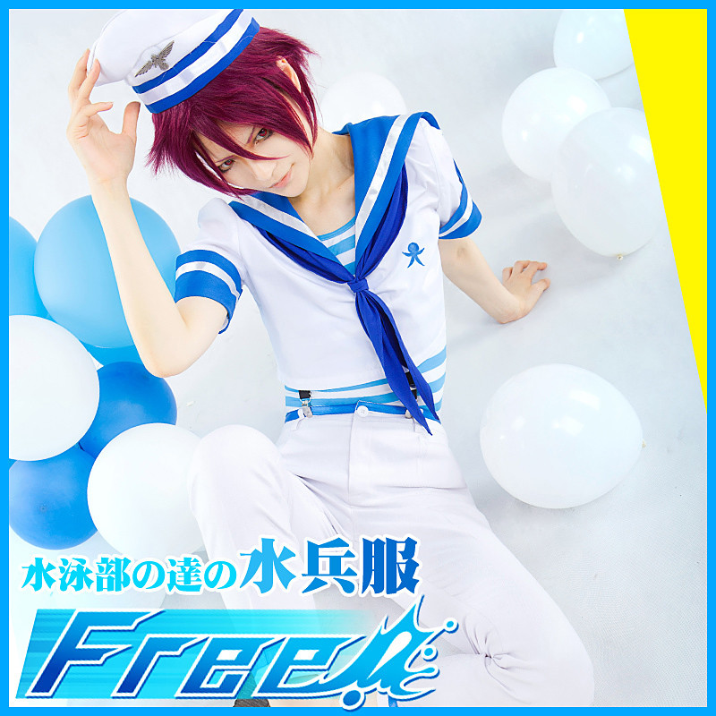 Free!(フリー) 七瀬 遙(ななせ はるか) セーラー服 コスプレ衣装