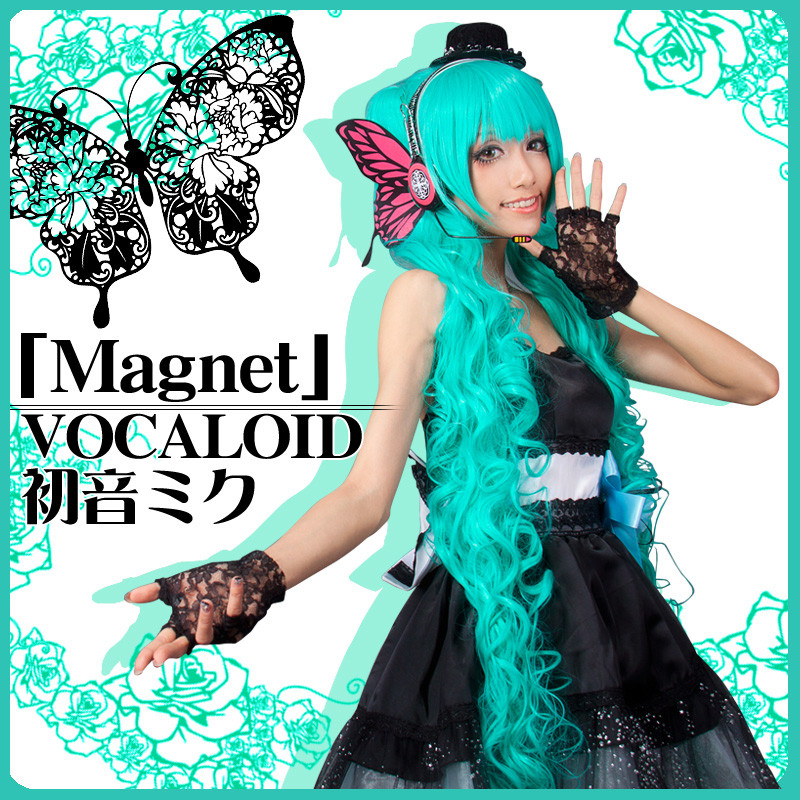 初音ミク 磁石版 Magnet Miku 初音家族 VOCALOID ボーカロイド コスプレ衣装