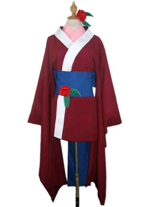 地獄少女 きくり 和服 コスプレ衣装