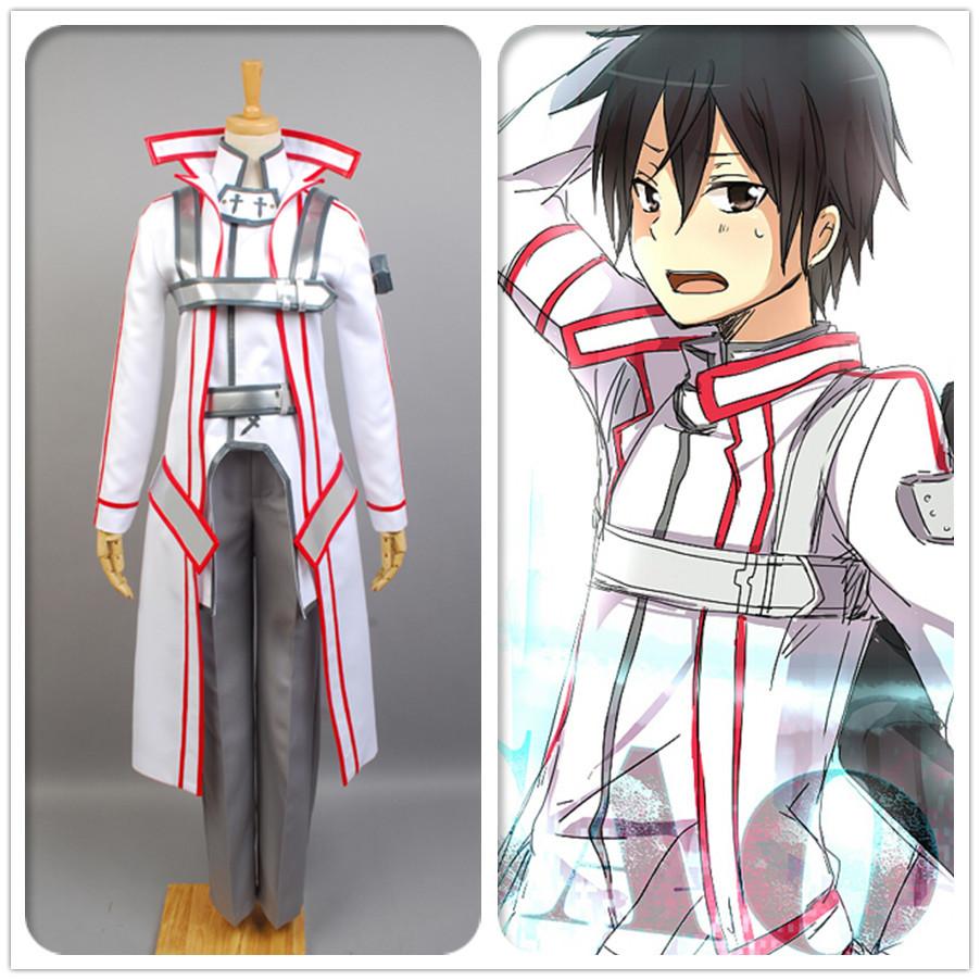 Sword Art Online (ソードアート?オンライン) 桐人/桐谷和人 COSPLAY コスプレ cos 制服 衣装