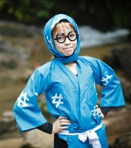 忍たま乱太郎忍術学園 1年生 摂津のきり丸(せっつの きりまる) コスプレ衣装