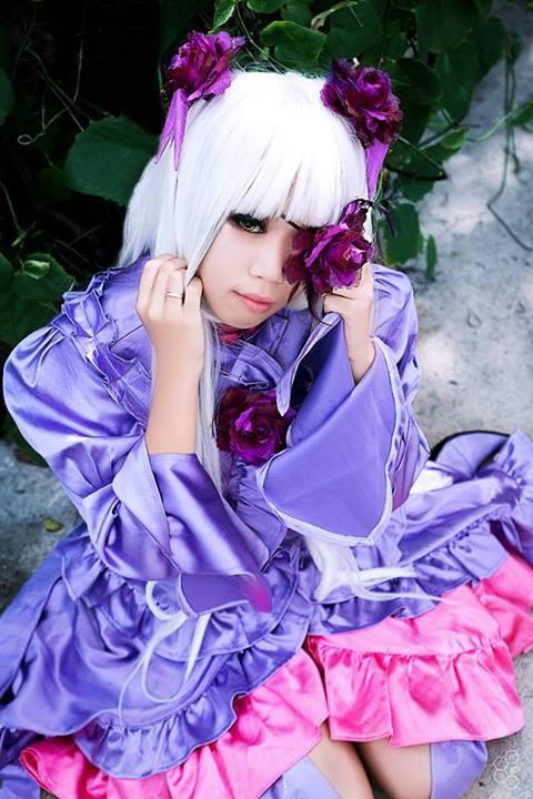 ローゼンメイデン 第7ドール 薔薇水晶(ばらすいしょう) コスプレ衣装