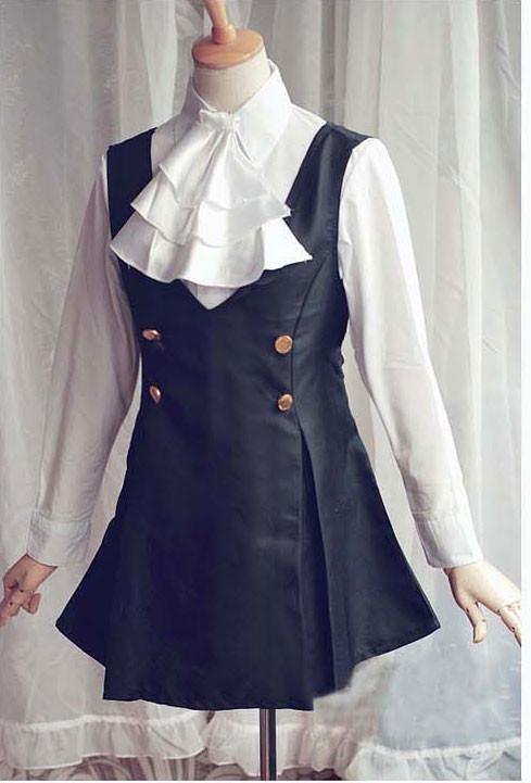 妖狐×僕SS 白鬼院凜々蝶(しらきいん りりちよ) 制服 コスプレ衣装