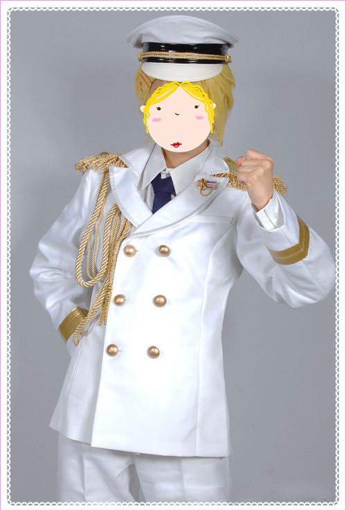 うたの☆プリンスさまっ?  Shining All Star CD  RAINBOW☆DREAM風 コスプレ衣装 白軍服 コスチューム