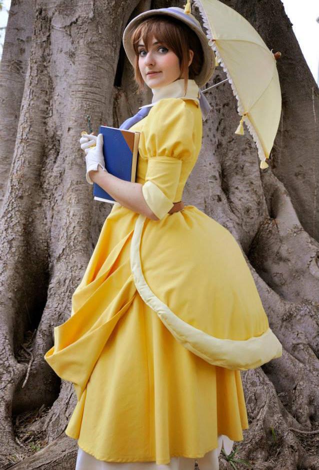 ディズニー版『ターザン』 Tarzan Jane ジェーン?ポーター  コスプレ衣装  メイド  ドレス