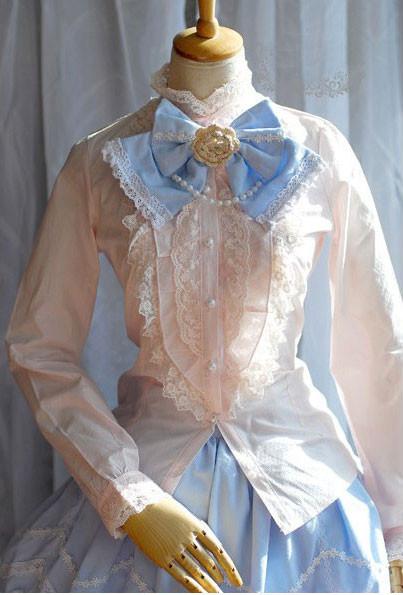 ロリータ LOLITA洋装 レースシャツ プリンセス 3色