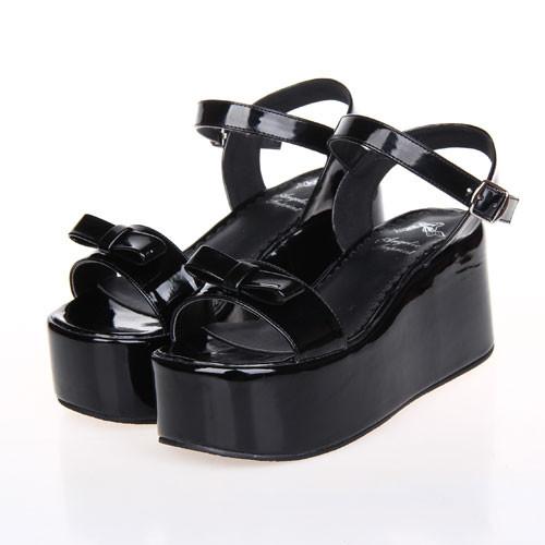 新品lolitaロリータ パンク靴 厚底靴 サンダル 可愛いレディース靴
