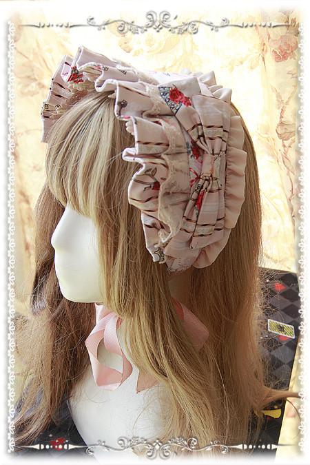シンデレラ ロリータ髪飾り Lolita JSK 可愛い蝶結び 高品質 豪華