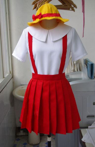 ちびまる子ちゃん さくら ももこ 長袖制服 コスプレ衣装 ハロウィーンコスチューム