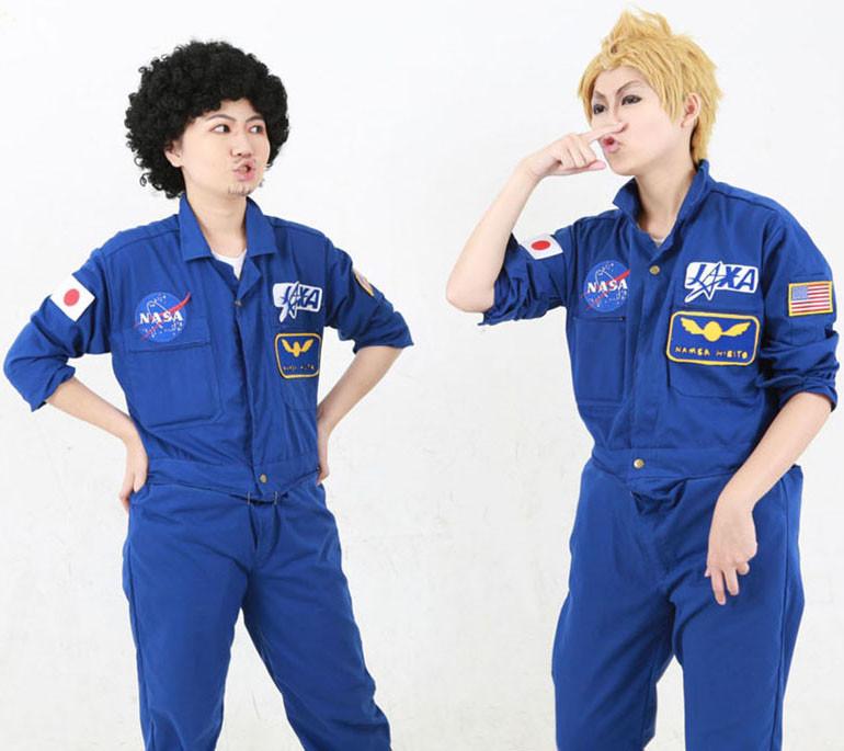 宇宙兄弟 南波日々人 南波六太 新田零次 コスプレ衣装 コスチューム 制服