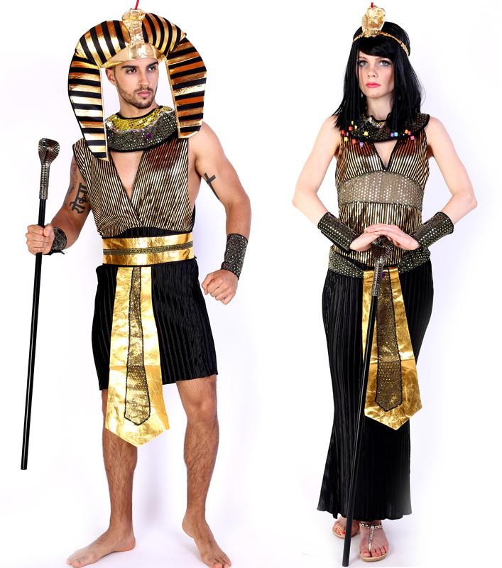ハロウィーンcosplay仮面舞踏会 大人用衣装 クレオパトラ エジプトのファラオ 女王のドレス