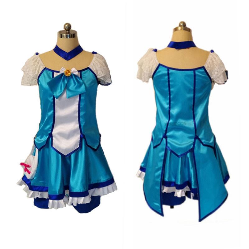スマイルプリキュア! Smile PreCure! 青木れいか キュアビューティ Cure Beauty コスプレ衣装 変装 仮装 コスチューム