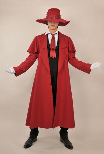 HELLSING(ヘルシング) へるしんぐ アーカード あーかーど コスプレ衣装 コスチューム コート