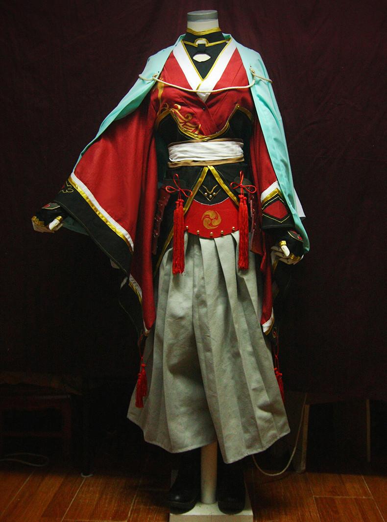 刀剣乱舞 刀剣男士 太刀男士 和泉守兼定 いずみのかみかねさだ コスプレ衣装