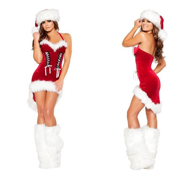 セクシークリスマス衣装 パーティーコスチューム