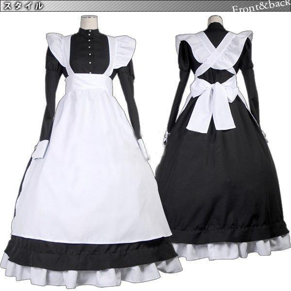 ブラック?ラグーンロベルタメイド服コスプレ衣装