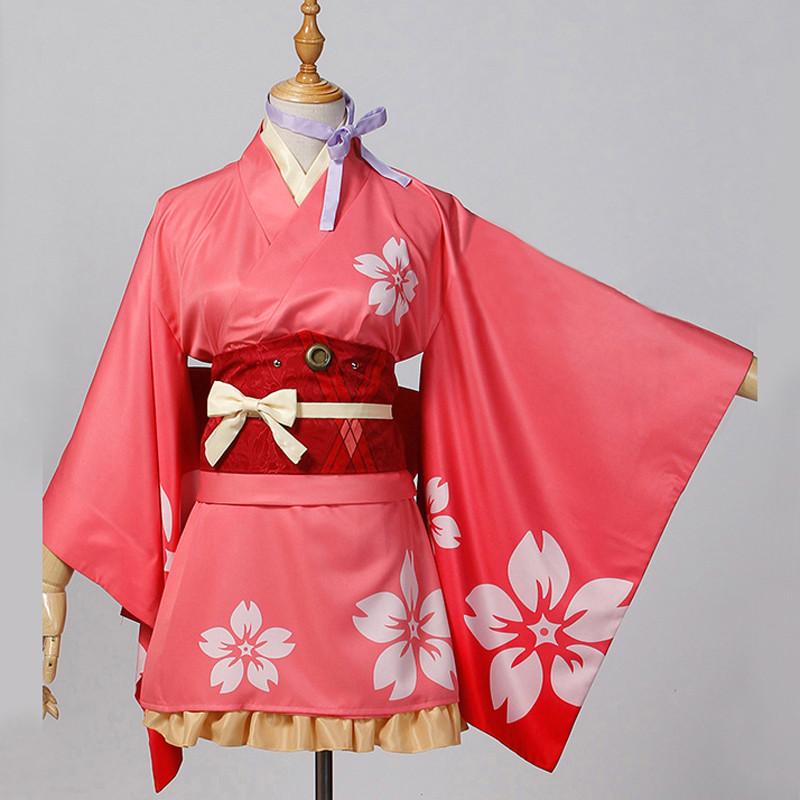 甲鉄城のカバネリ 無名 むめい 和服 着物 コスプレ衣装