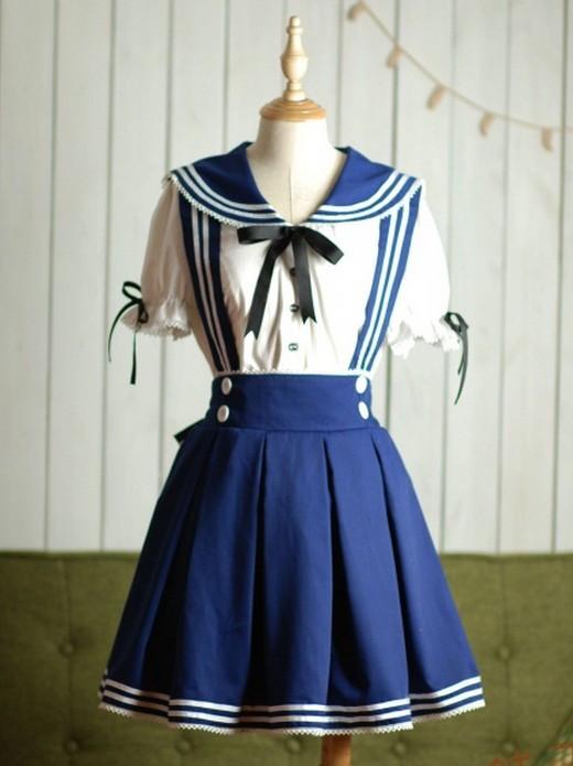ワンピース海軍制服 メイド服直販 激安コスチューム衣装