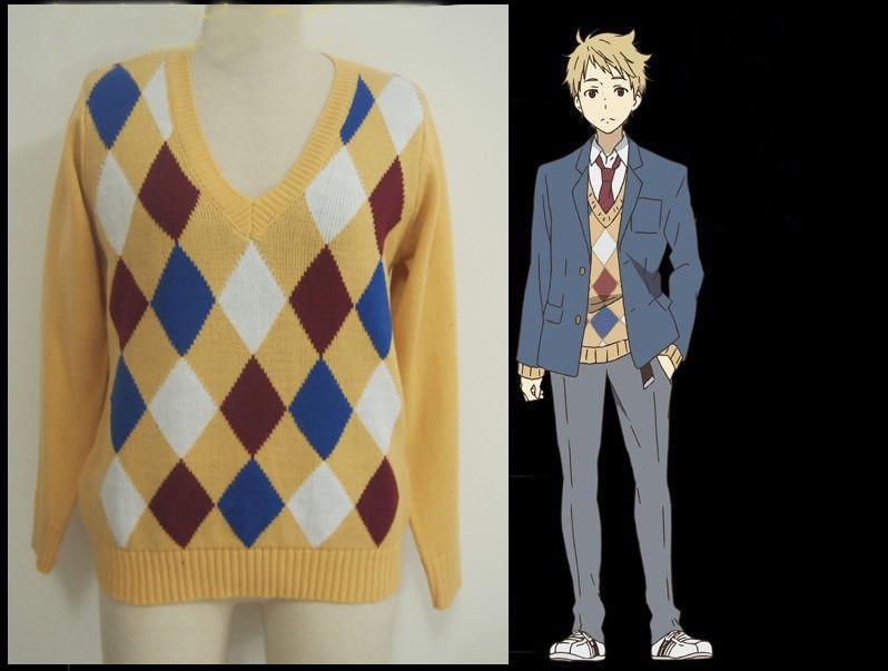境界の彼方 神原秋人 セーター(かんばら あきひと)セーター コスプレ衣装 コスチューム