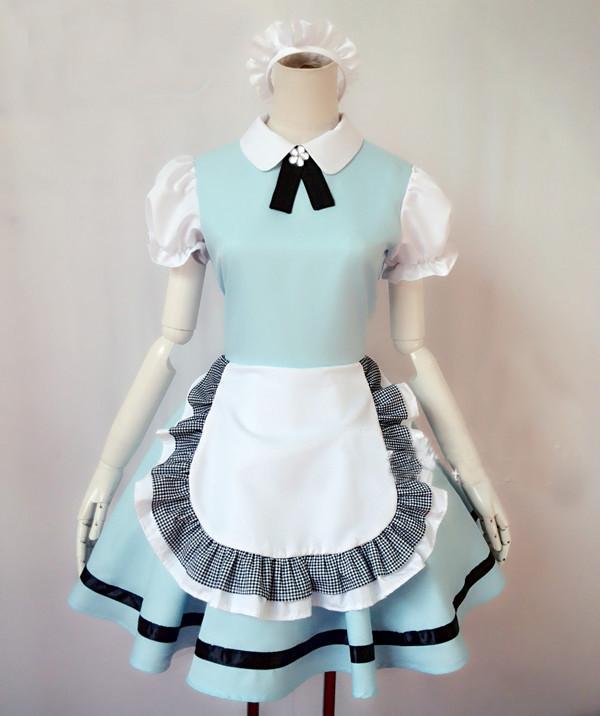 六本木メイド衣装   制服 コスチューム コスプレ衣装
